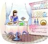 卡通女性图-卡通图片