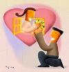卡通浪漫图-卡通图片