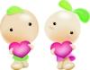 豆豆娃娃图-卡通图片