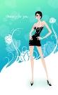 女性花纹图-女性生活图片