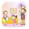 幸福生活图-家庭图片