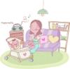 母亲生活图-家庭图片