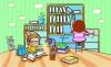 儿童卡通游玩图-少年儿童图片