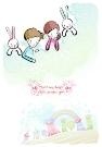 儿童情人节图-少年儿童图片