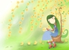 唯美插画图-少年儿童图片