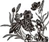 荷花图片-竹子荷花植物图-节日喜庆图库