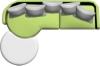 沙发图片-户型家具图-房地产设计图库