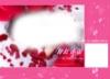 跨页婚纱模板粉红香颂图片-主题模板图-影楼摄影设计图库