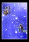 牧羊座狮子座图片-星语星愿图-影楼摄影设计图库