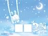 月亮上的兔子图片-爱琴海图-影楼摄影设计图库