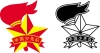 少先队队徽图片-标志图-喷绘设计图库
